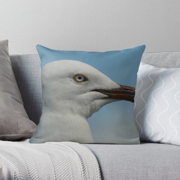 Seagull II Throw Pillow