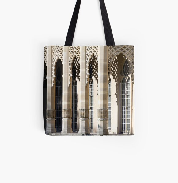 Light and Shade All Over Print Tote Bag