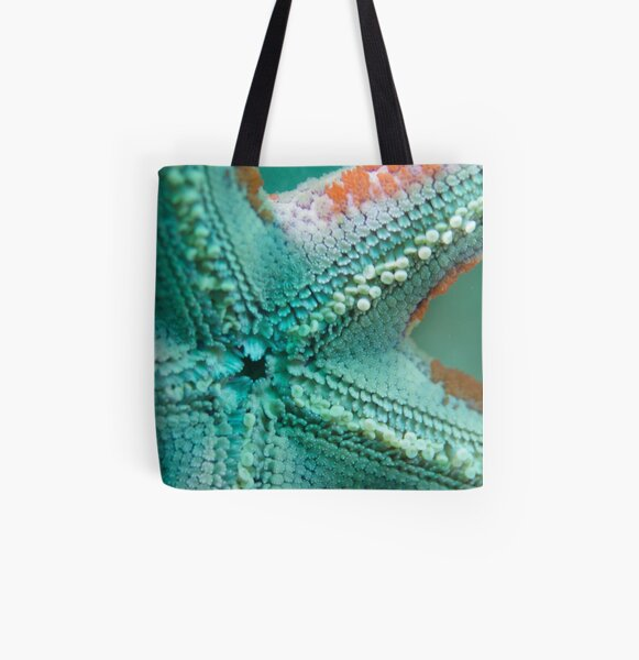 Underneath the Star All Over Print Tote Bag