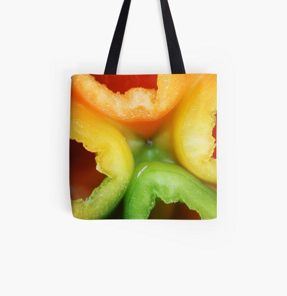 four season pepper All Over Print Tote Bag