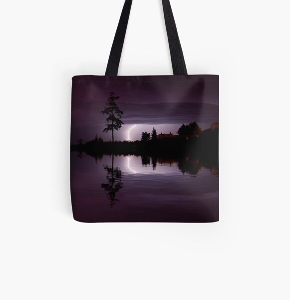 Vision from Icarus All Over Print Tote Bag