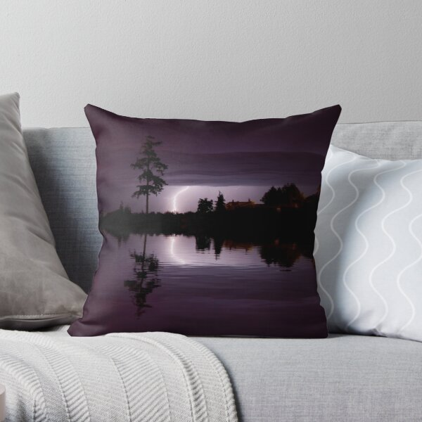 Vision from Icarus Throw Pillow