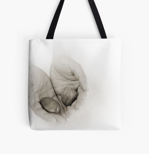 Hands: Wellness All Over Print Tote Bag