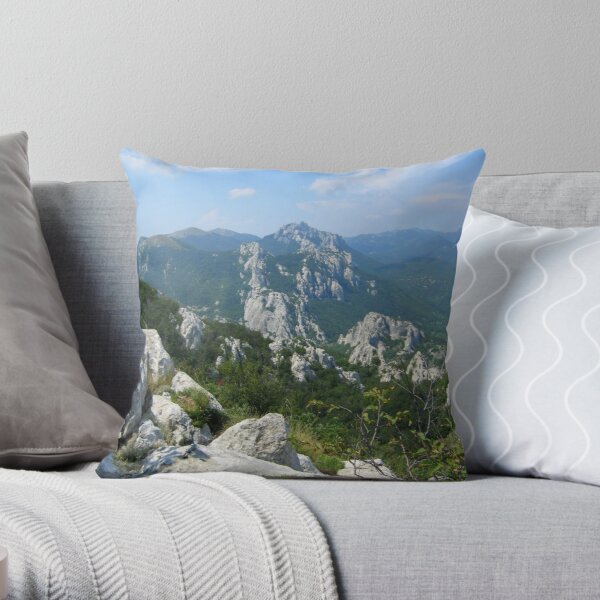 WHERE IMMORTALS RESIDE Throw Pillow