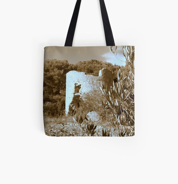 OLD WINDMILL All Over Print Tote Bag