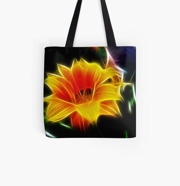 Fractal Frenzy All Over Print Tote Bag