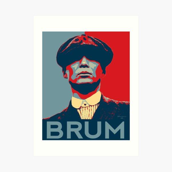 Brum - Peaky Blinders homage Art Print