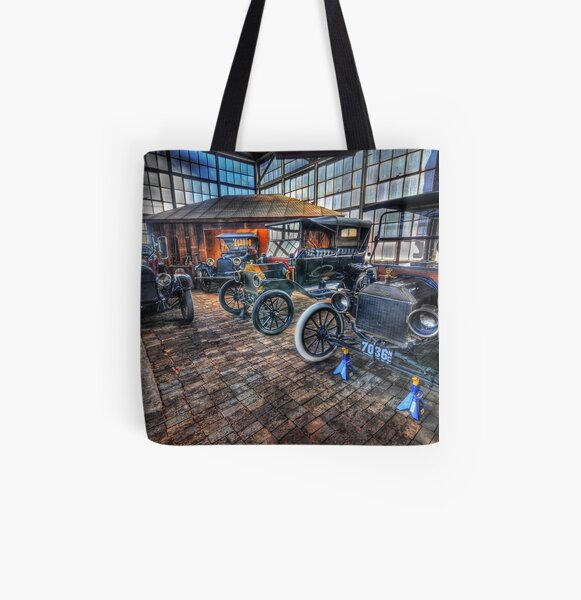 Just Like Old Times All Over Print Tote Bag