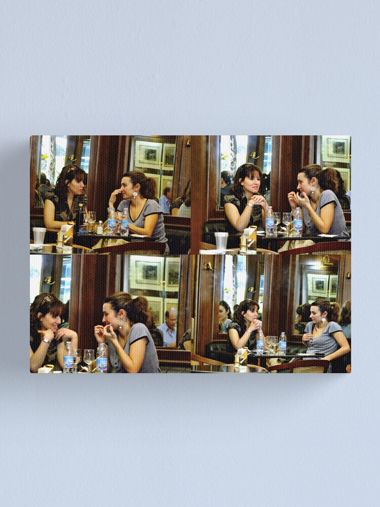 Alternate view of Intimacy & complicity Canvas Print