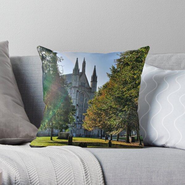 Autumn Morning - Winchester Throw Pillow