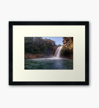 Tawhai Falls, Tongariro National Park Framed Print
