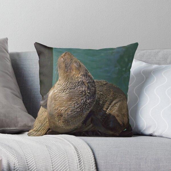 An Itch To Scratch Throw Pillow