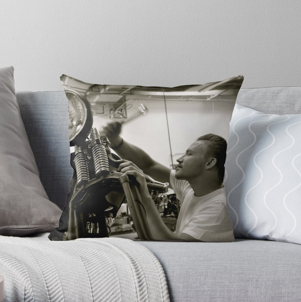 Justin Throw Pillow