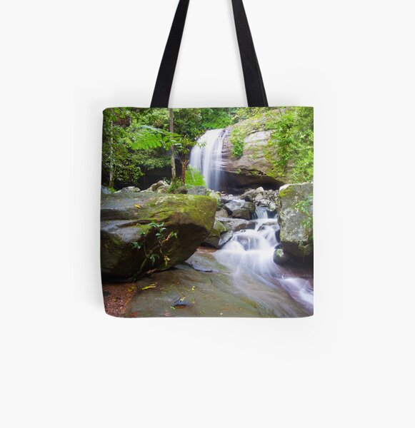 Serenity Falls All Over Print Tote Bag