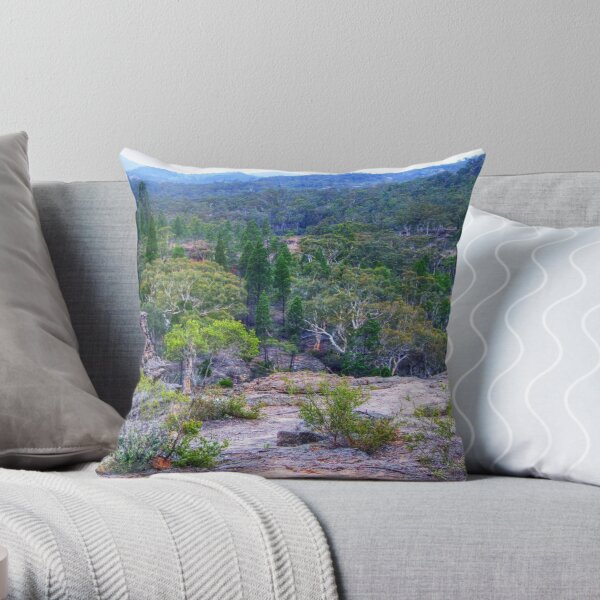 Wollemi National Park Throw Pillow