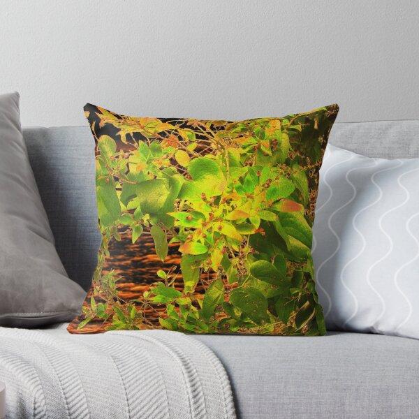 GLOW in the Bush Throw Pillow