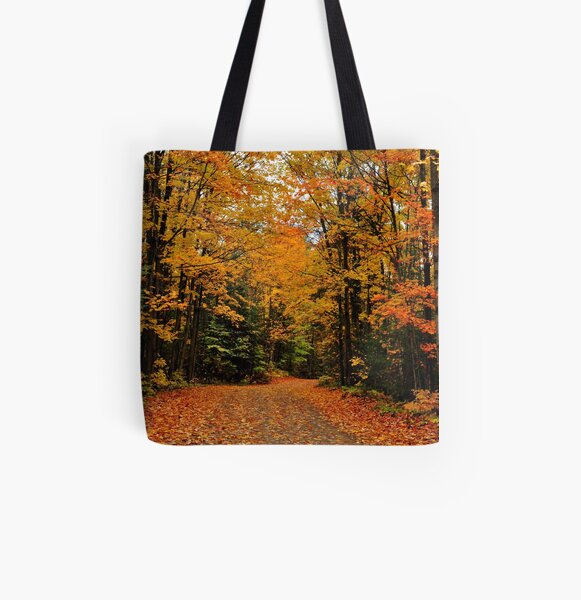 Oxtongue River Road All Over Print Tote Bag