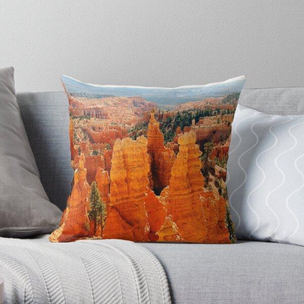 Fairyland Point, Bryce Canyon Throw Pillow