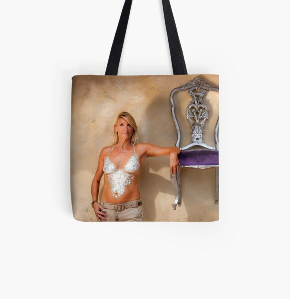 """""""Armrest"""" - Nickie from EFXS  All Over Print Tote Bag"""