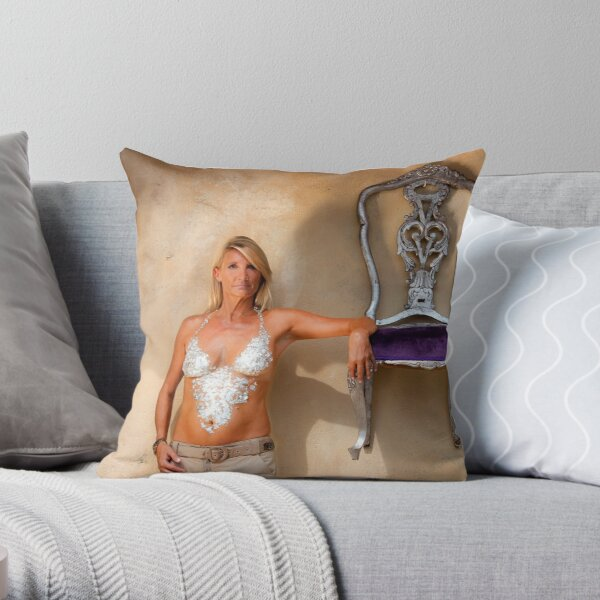 """""""Armrest"""" - Nickie from EFXS  Throw Pillow"""