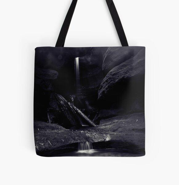 Mist at Centennial Glen All Over Print Tote Bag