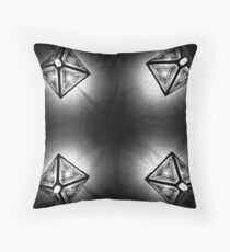 Kaleidoscope on the Ceiling Throw Pillow