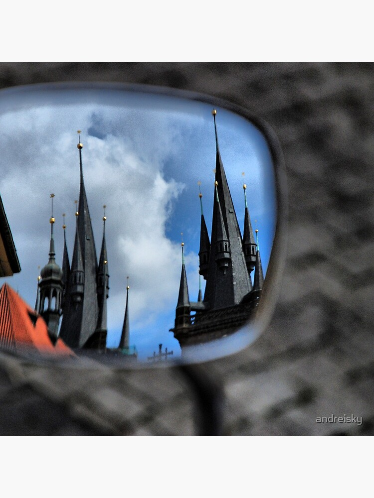 Prague in a mirror by andreisky
