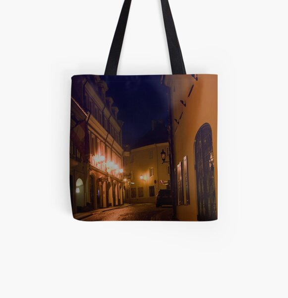 Door at right (My city) All Over Print Tote Bag