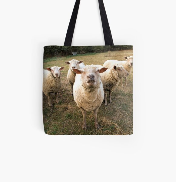 The Dudes All Over Print Tote Bag