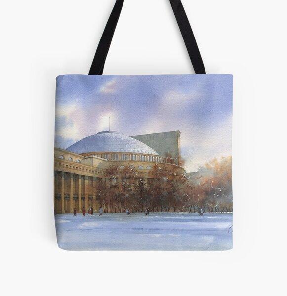 Novosibirsk. Opera-house All Over Print Tote Bag