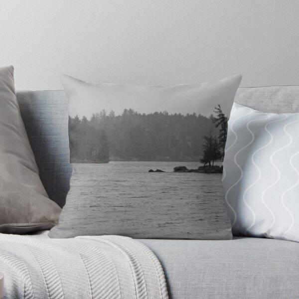 Algonquin Rain Throw Pillow