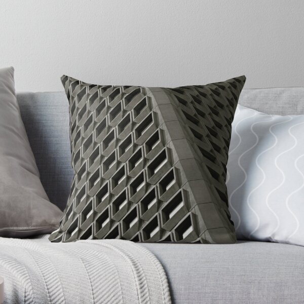 Patterns on the Rise Throw Pillow