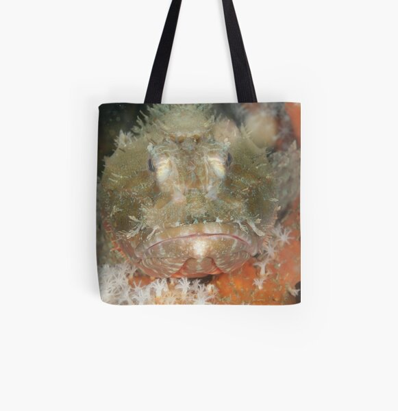 Red Rock Cod All Over Print Tote Bag