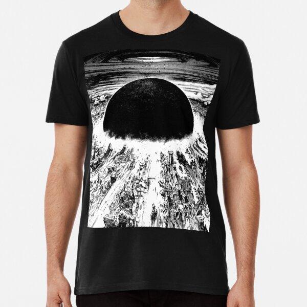 Akira cyberpunk city explosion Premium T-Shirt
