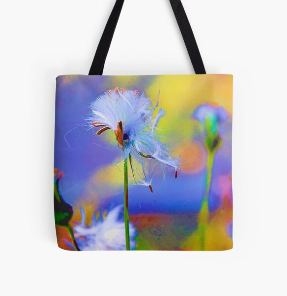 Fluff All Over Print Tote Bag