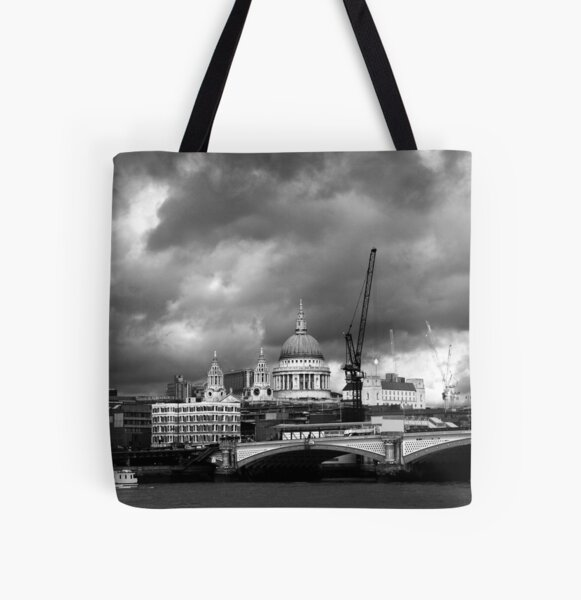 st pauls catherdral All Over Print Tote Bag