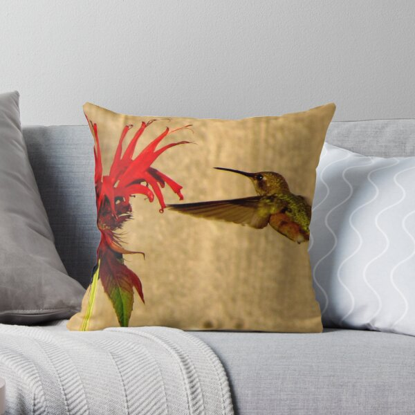 Ring Around the Rosy  Throw Pillow