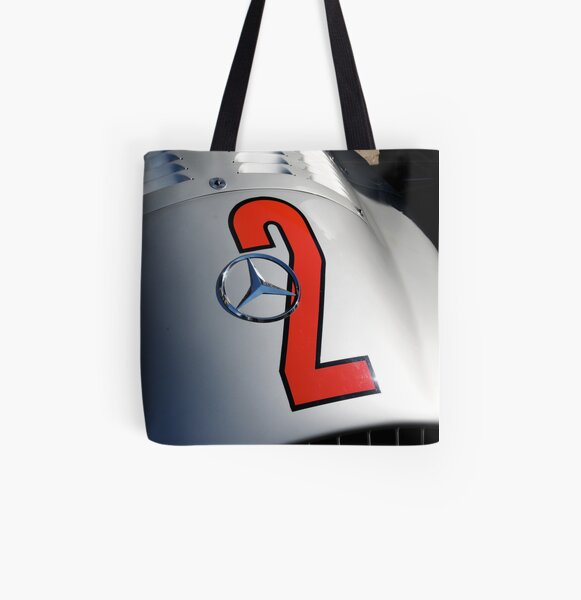 Silver Arrow All Over Print Tote Bag