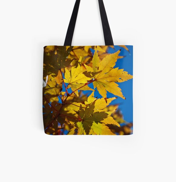 Golden Days All Over Print Tote Bag