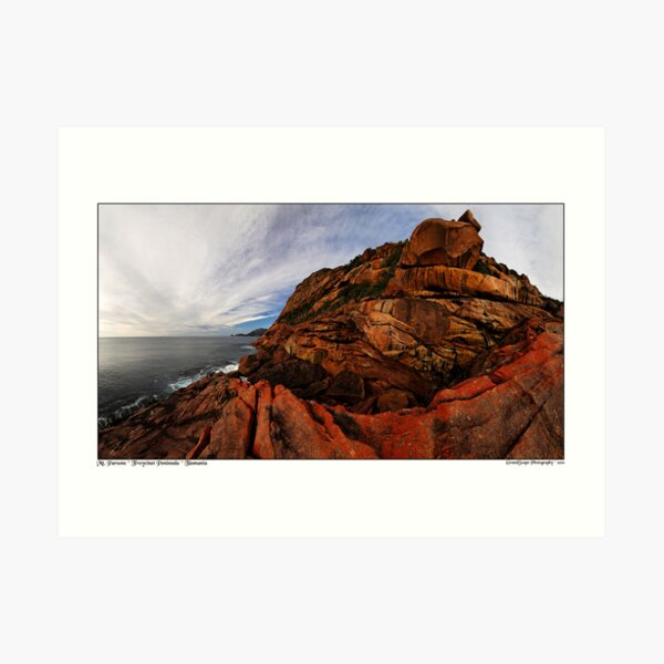 Mount Parsons Panorama Art Print