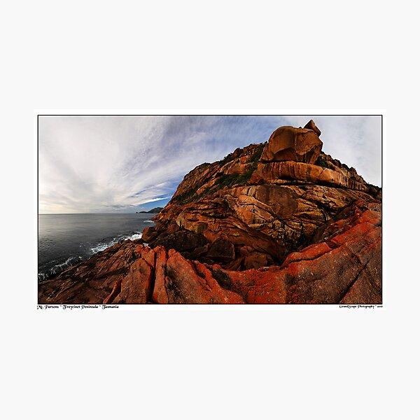Mount Parsons Panorama Photographic Print