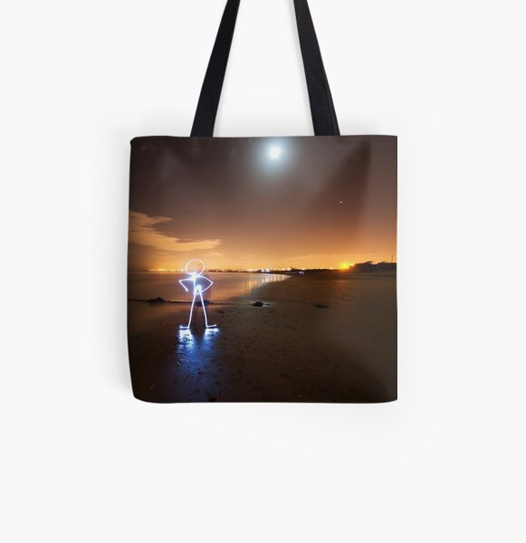 Man All Over Print Tote Bag