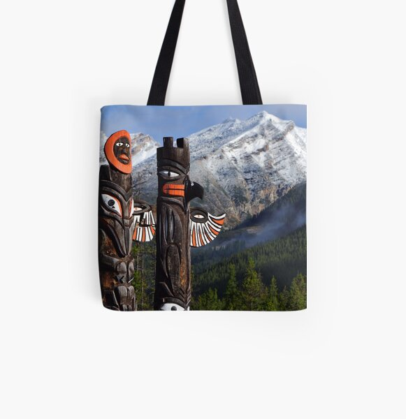 Totems Tote bag doublé
