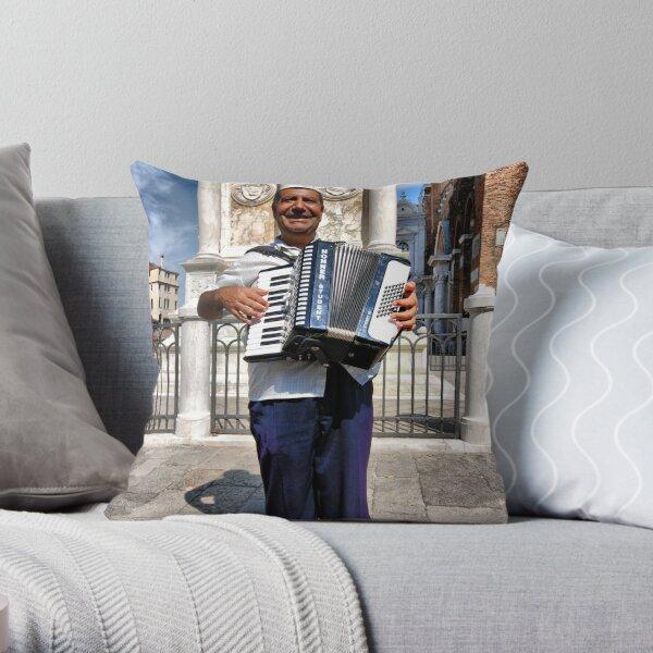 O Sole Mio Throw Pillow