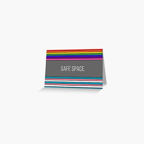 Queer Safe Space. Grußkarte
