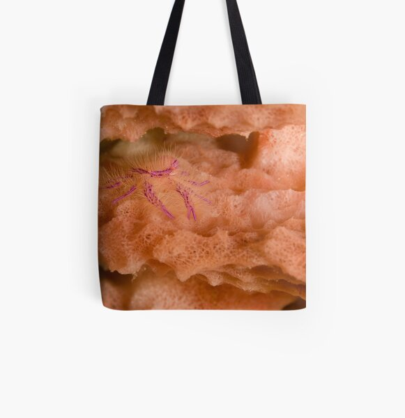Fuzzy All Over Print Tote Bag