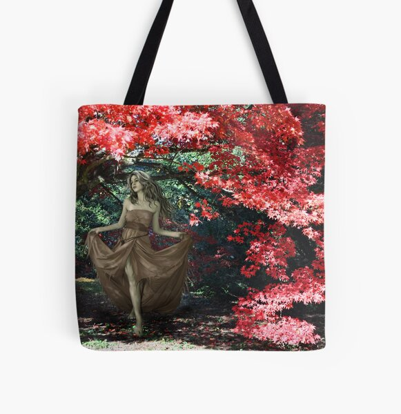 Autumn Beauty All Over Print Tote Bag