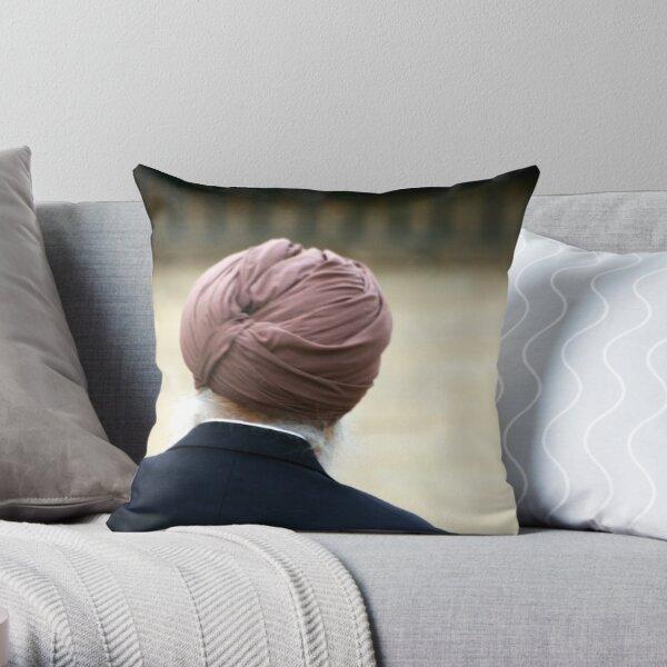 Pondering Throw Pillow