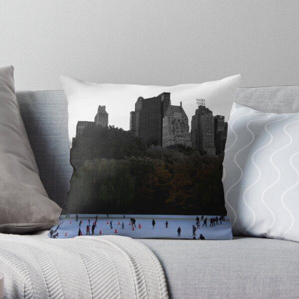 the life below the city Throw Pillow