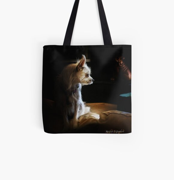 Contemplations of the Princess All Over Print Tote Bag